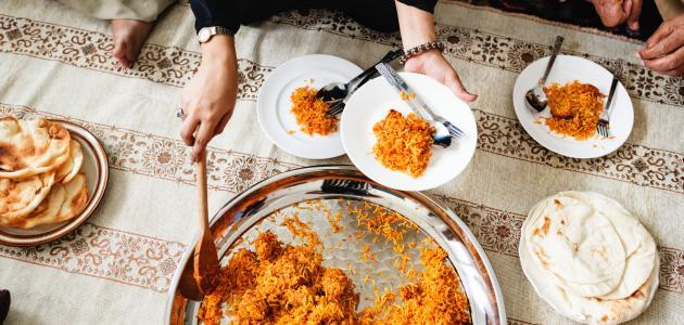 الطعام في رمضان