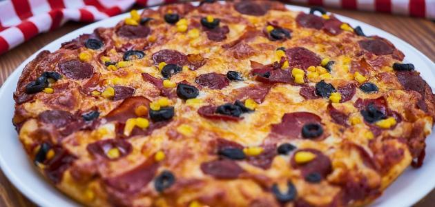 اسم دقيق البيتزا