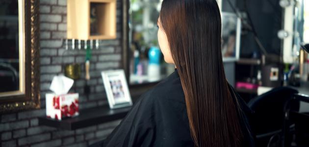 الماء لتطويل الشعر