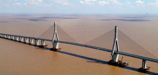 أكبر جسر في الصين