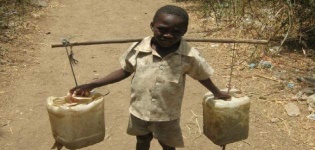 بحث حول الفقر