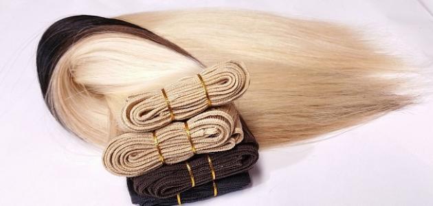 أنواع خصلات الشعر