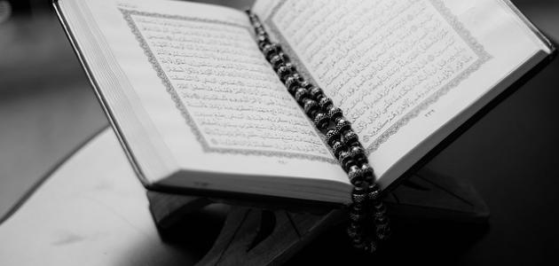 أمثلة الإقلاب في القرآن