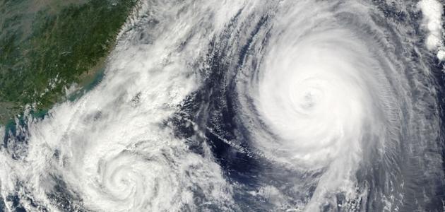 أكبر إعصار في العالم