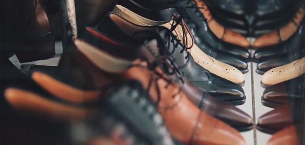 المحافظة على جلد الحذاء