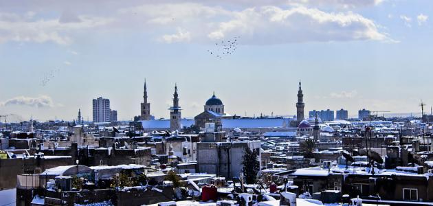 اسم دمشق القديم
