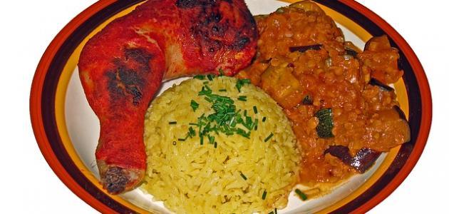 أكل هندي بالدجاج
