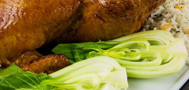 كيف عمل دجاج محشي