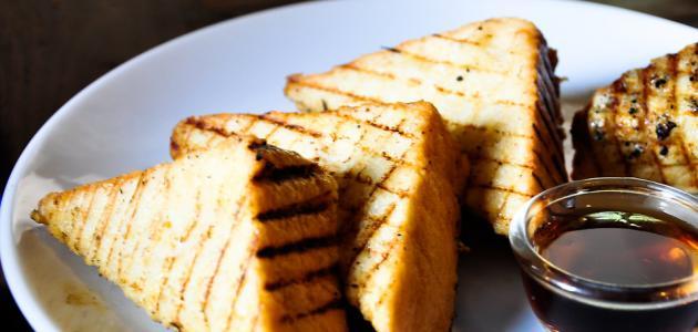 أفكار بخبز التوست