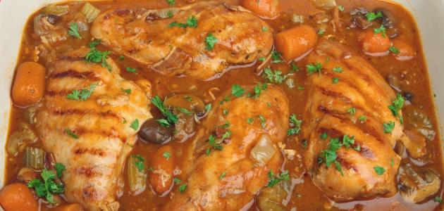 كيفية عمل صالونة الدجاج