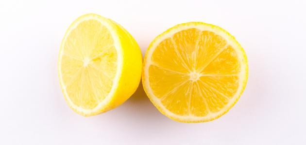 ماسك الليمون