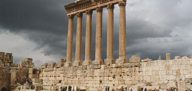 آثار بعلبك في لبنان