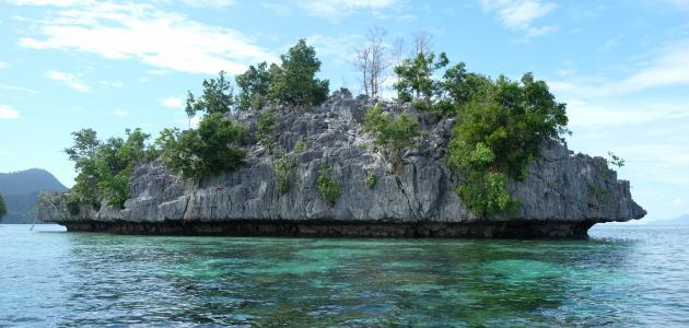 الفرق بين الجزيرة وشبه الجزيرة
