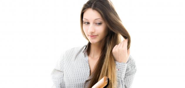 فوائد الفازلين للشعر الجاف