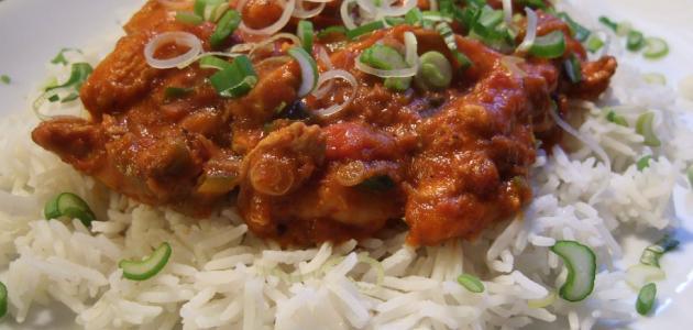 أكلات هندية بالدجاج والأرز