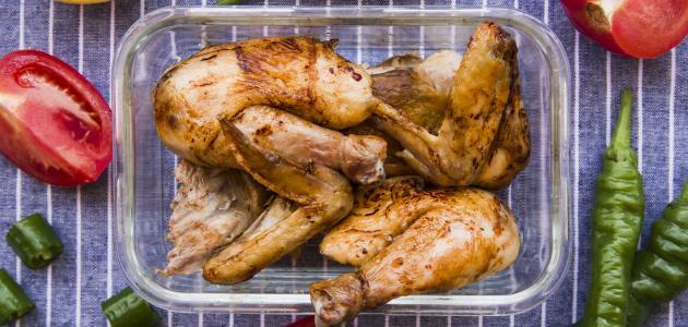 أكلات حارة بالدجاج