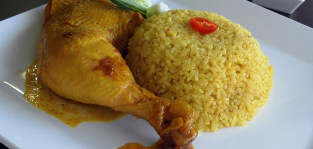 الأرز الإيراني بالدجاج