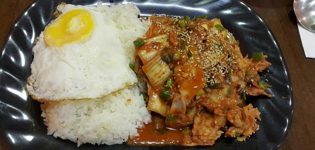 أكل كوريا