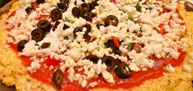 بيتزا القرنبيط