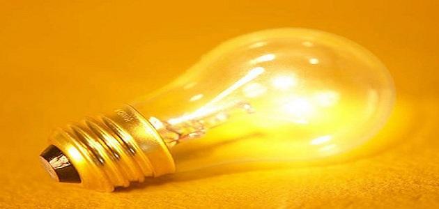 كيف يصنع المصباح كهربائي