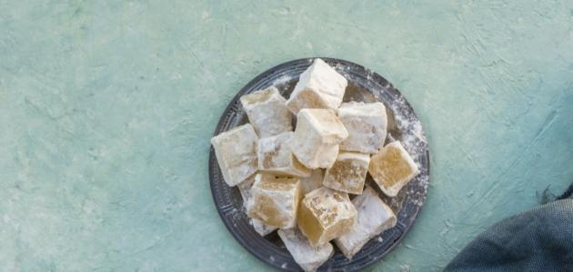 حلوى الحلقوم التركية