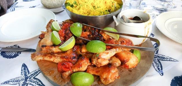 أكلات مغربية بالدجاج
