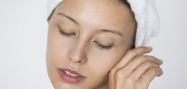 كيفية التخلص من تقشير الوجه