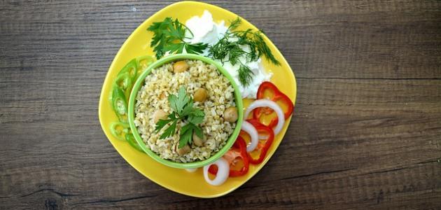 أكلات نباتية تركية