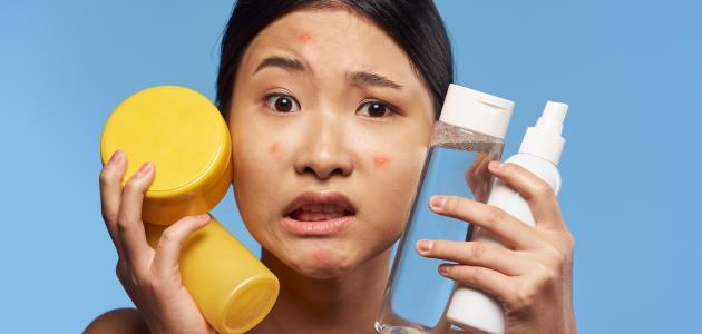 كيف أنظف البشرة الدهنية