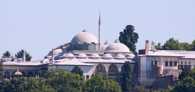 أين يقع قصر طوب قابي في إسطنبول
