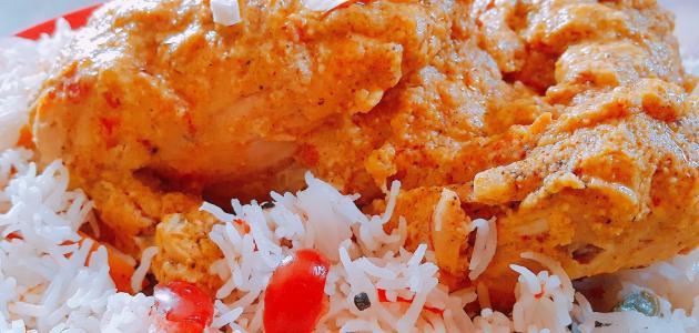 أكلات الدجاج مع الأرز