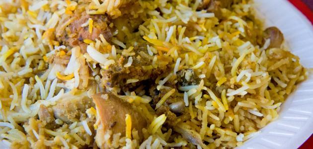 أكلات دجاج بالأرز