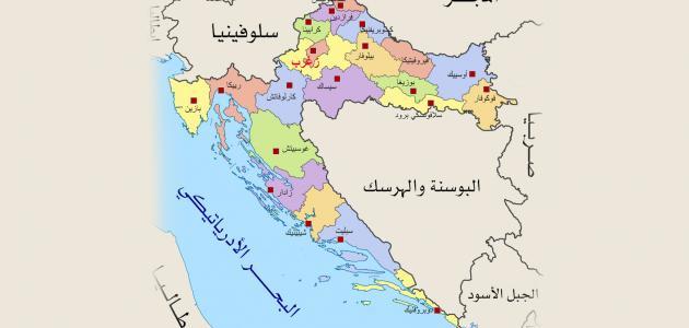 أين تقع البوسنة والهرسك على الخريطة