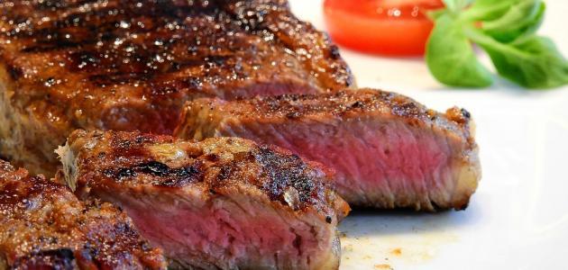 أكلات ستيك لحم
