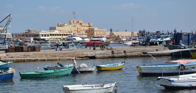 أين تقع الإسكندرية