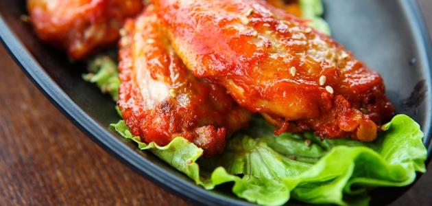 أكلات آسيوية بالدجاج