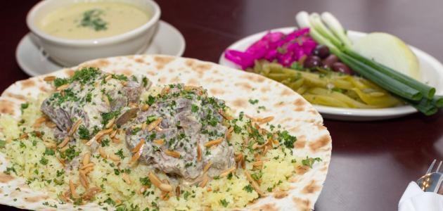 أكل أردني مشهور