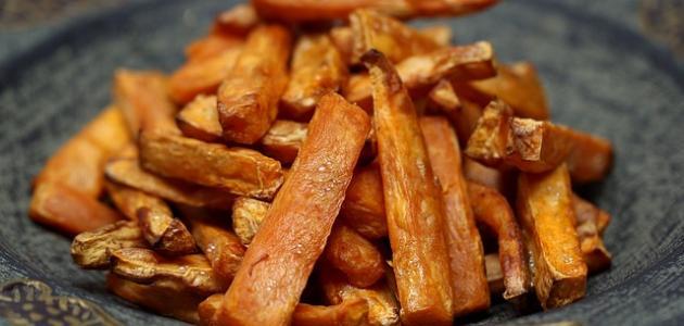 كيفية عمل البطاطا الحلوة