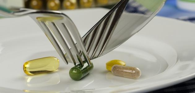 أضرار المكملات الغذائية