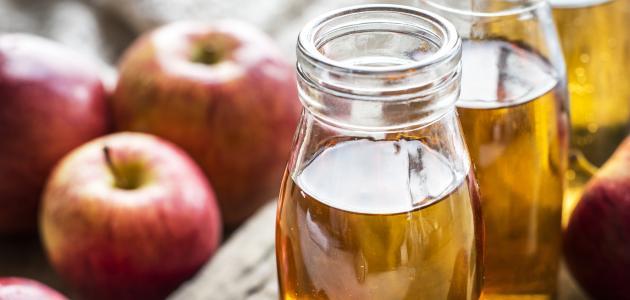 ماسك خل التفاح