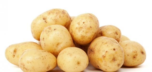 ماسك البطاطس