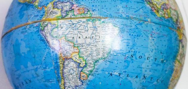 شكل الكرة الأرضية