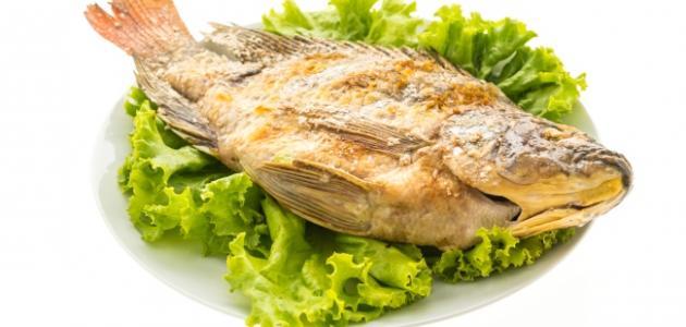 كيفية قلي السمك
