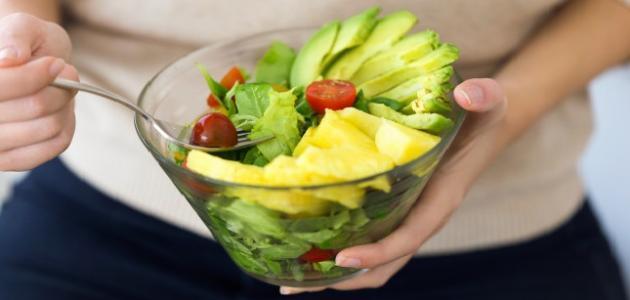 أطعمة خالية من البروتين
