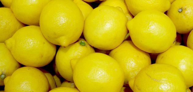كيفية تخزين الليمون
