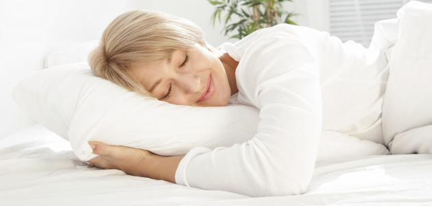 كيفية النوم الصحيح