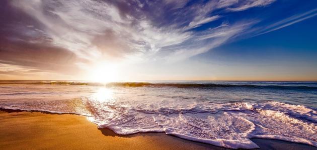 قصيدة عن البحر