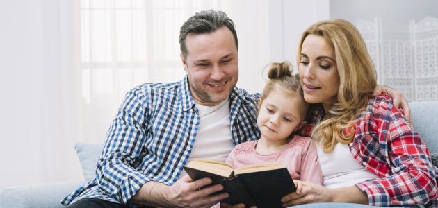 كلمات عن الأم والأب قصيرة