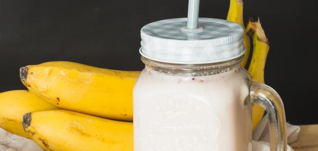 طريقة عمل الموز باللبن