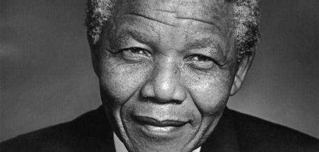 بحث حول نيلسون مانديلا - موضوع